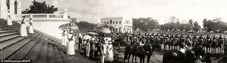 The family album of Viscount George Goschen provides a snapshot of the pomp and pageantry the British aristocracy enjoyed in India in the 1920s and 30s