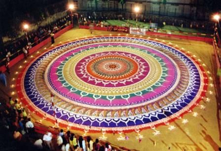 9 Best Big Rangoli Designs with Pictures | Styles At Life