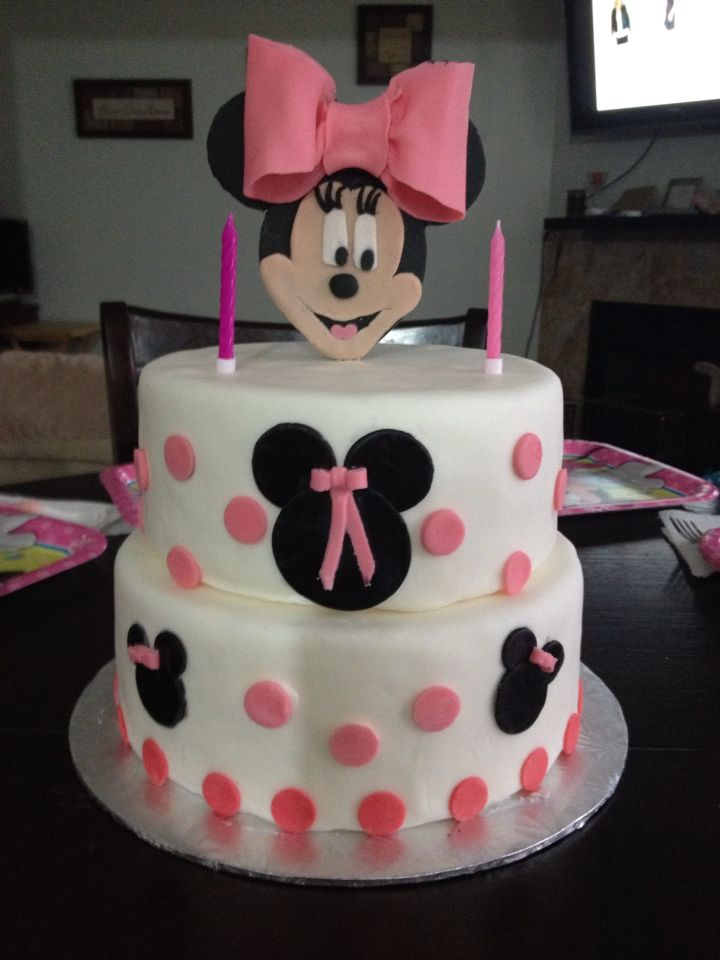 Birthday cake for my granddaughter's 2nd birthday.