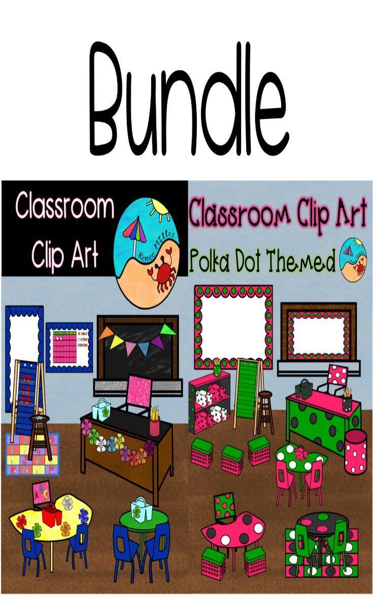 Classroom Clip Art Bundle Amazing Classroom Products
