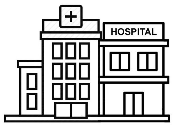 All New Modern And Large Hospital Coloring Pages For Kids