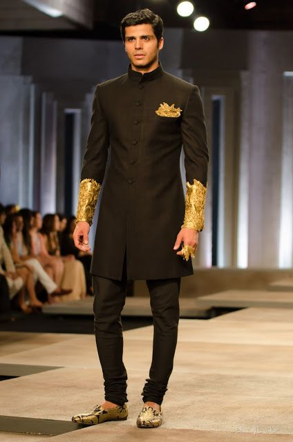 http://www.ShantanuNikhil.com/ Collection 'To Die For' @ India Bridal Fashion Week (July) 2013, via Delhi Style Blog