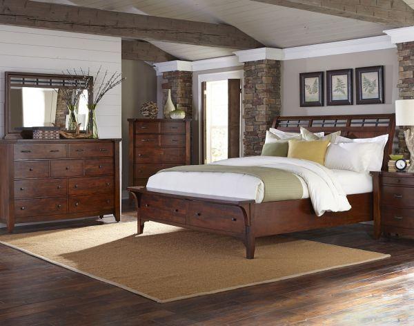 Best Whistler Retreat 5 Piece Bedroom Set Modern Bedroom 640 x 480