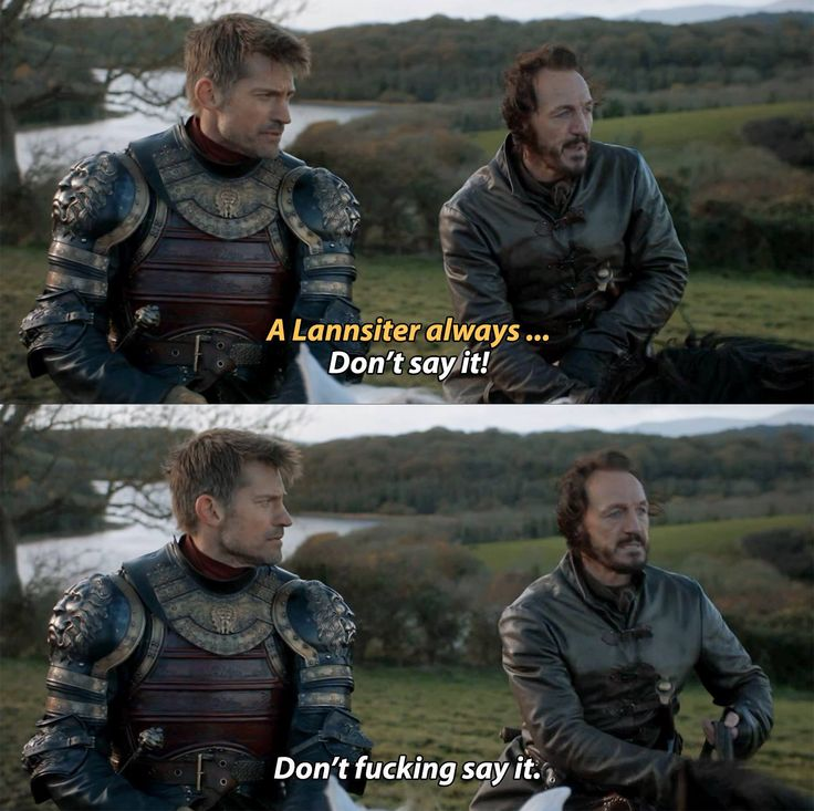 We missed you Bronn!!!