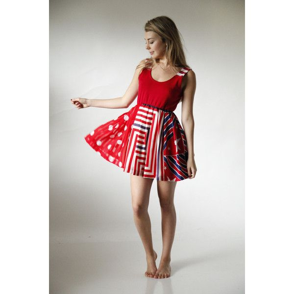 Cocktail dress nautical