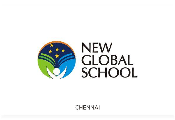 New Global School, Chennai Logo Design by Fineline Graphics @ www.finelinelogo.com