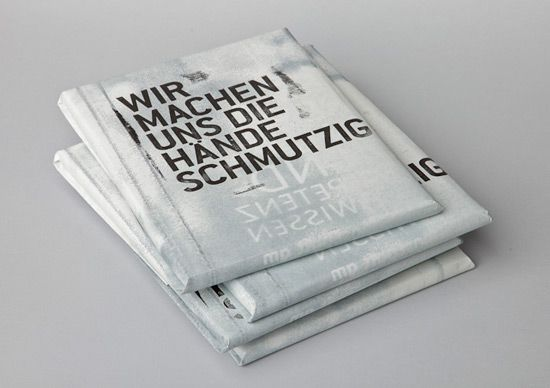 "Beautiful sustainability report designed by MOOI Design for Gutenberg-Werbering GmbH, an Austrian printing company.  ""The annual report tells the success story of the effort and energy Gutenberg printers put into being sustainable and environmentally friendly. The visual language tries not to show typical"