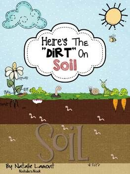 This is a complete unit on soil and its important role in our environment. I have included every page with coloured graphics and then with black and white graphics so you can copy which ever format suits your needs best.