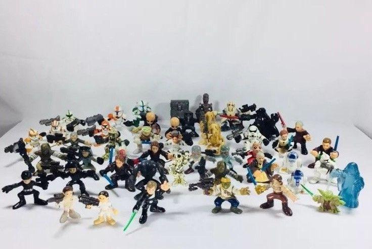 Playskool Star Wars Galactic Heroes Imaginext Lot Over45 Figures HUGE COLLECTION  | eBay