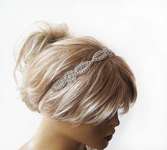 Bandeau strass nuptiale, coiffe de cheveux de mariage, accessoires de mariage, accessoires de cheveux pour mariage