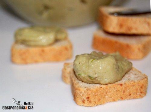 Crema de alcachofas para untar | Gastronomía & Cía