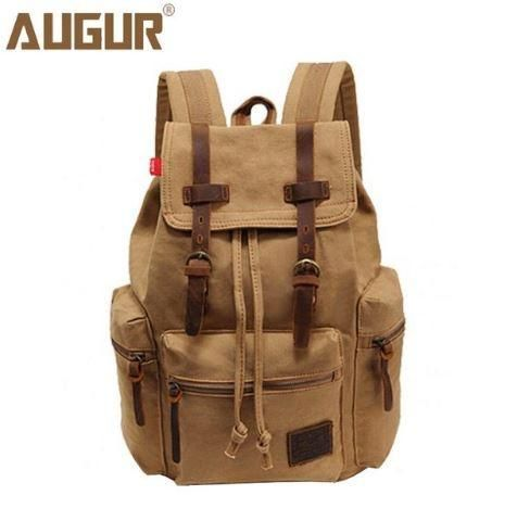 NEW! HIGH QUALITY, Retro Canvas Backpack for Men, Women and Teens