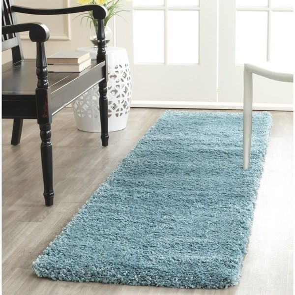 Luxury Blue Hallway Runner