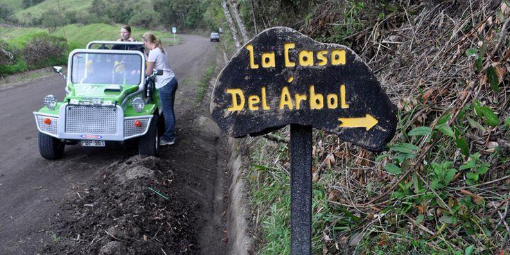 17 best images about lugares tur sticos de ecuador on - Casas en el arbol ...