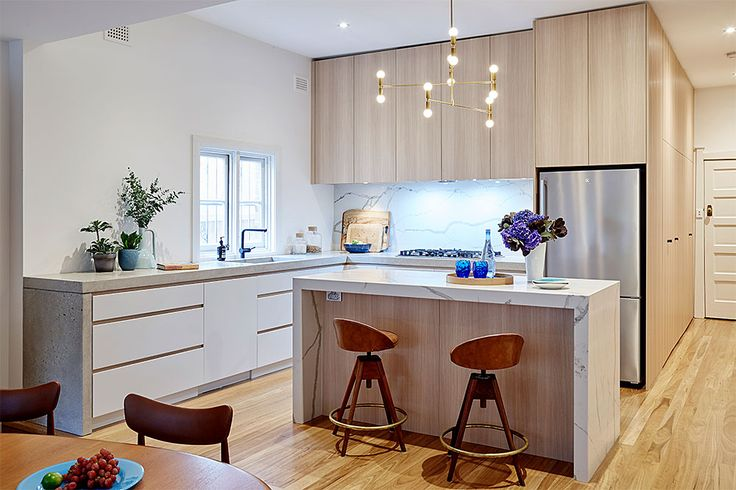 Kitchen gallery designs for any space. Contemporary, modern, country & Custom kitchens. Wide variety of options. Talk to a design expert today 1300 696 468