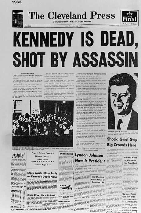 Jfk death date in Melbourne
