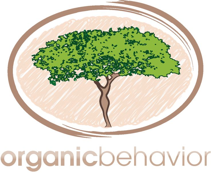 Logo for organic beauty products