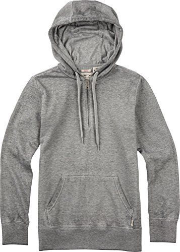 Burton Womens Telepathy Pullover Hoodie Medium Gray Heather ** Want to know more, click on the image.(This is an Amazon affiliate link and I receive a commission for the sales)