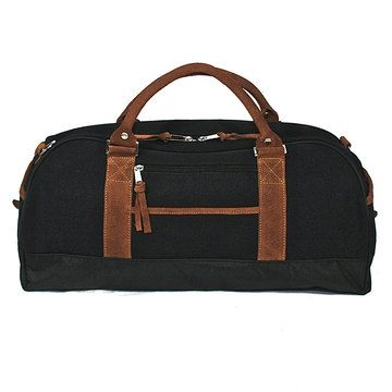 Canvas Overnighter Black now featured on Fab.