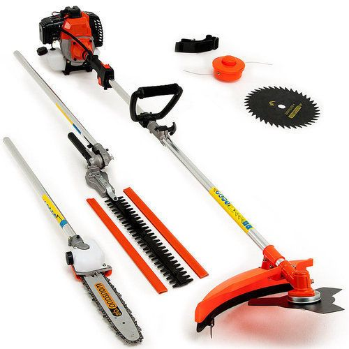 Garden Power Tool Multi Chain Saw Hedge Trimmer Cutter Pruner Gardening Hand Set