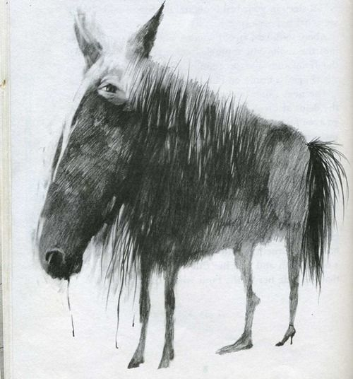 """Stephen Gammell, """"Scary Stories to Tell in the Dark"""""""