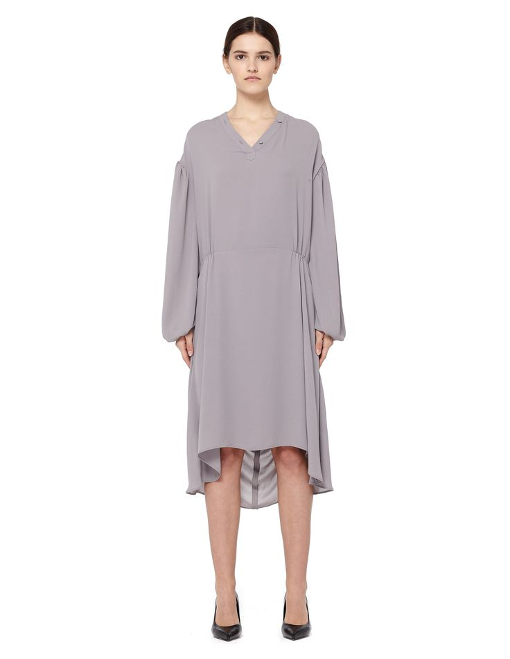 Polyester dress by Balenciaga — SVMoscow