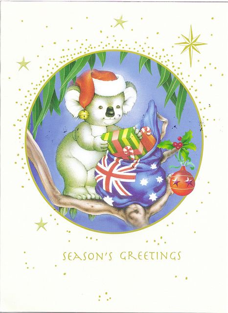 Australia Christmas Card by Mailbox Happiness-Angee at Postcrossing, via Flickr