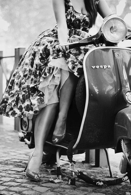 Italian Vintage Photographs ~ #Vespa #Italy #Italian #vintage #photographs #family #history #culture