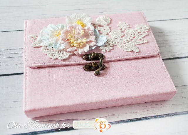 Blog studio75.pl: Mini album - wallet