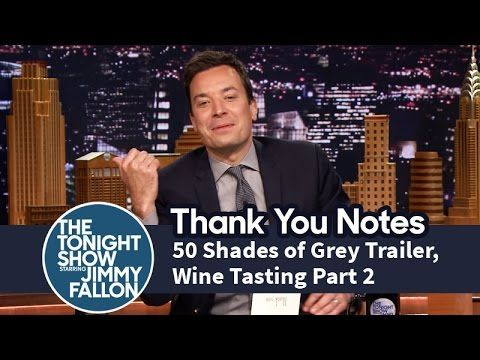 Thank you notes 50 shades of grey trailer wine tasting for Fifty shades of grey part two