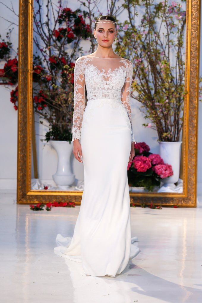 Anne Barge Spring 2017 Collection Wedding Dress And Strapless Dresses