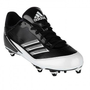 SALE - Mens Adidas Scorch X Football Cleats Black Synthetic - Was $94.99 - SAVE $25.00. BUY Now - ONLY $69.97