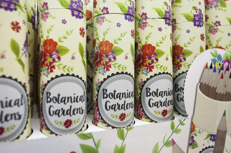 Sada pastelek v designovém obalu #BotanicalGarden