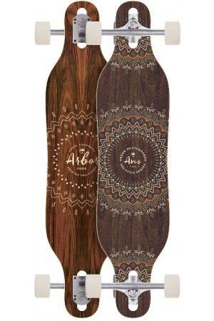 "Arbor Axis 37"" Solstice Longboard Complete 2017"