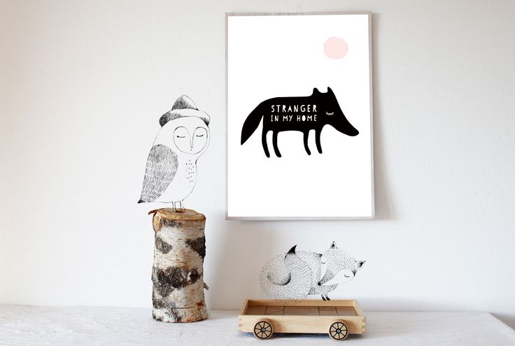 Prints and poster for baby and kids room. 100% love design !