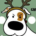 Send out funny Dog eCards for FREE for Christmas. #christmas #xmas #dogs #antlers #christmaslights #dogbreeds