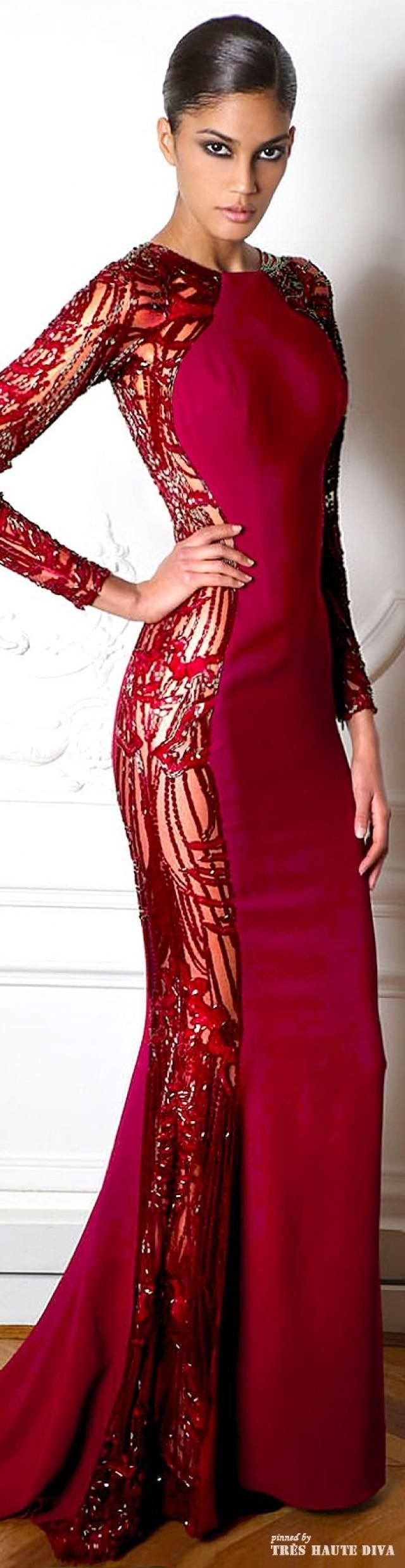 Paris Fashion Week Zuhair Murad Fall/Winter 2014 RTW