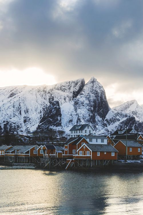 Reine, Norway   Andrey Chabrov I've wanted to go to Norway more than anywhere else for over 10 years, it has to happen soon or I might just explode. LOOK HOW PERF