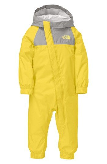 The North Face 'Resolve' Rain Suit (Baby Girls) available at #Nordstrom