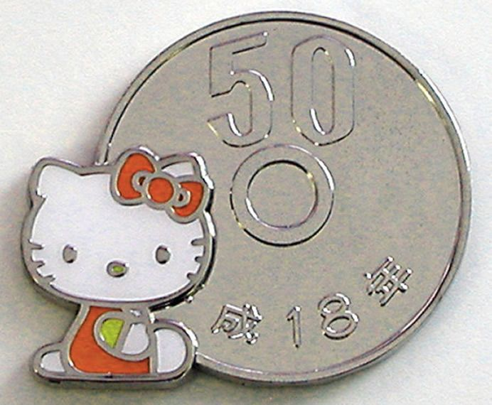 Hello Kitty Magnet Coins