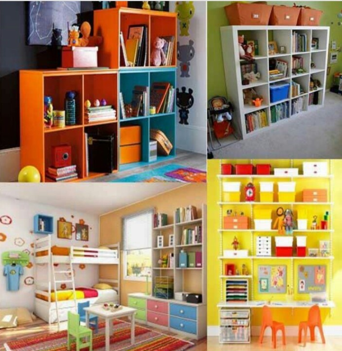 Storage solutions for kids room interior design for Storage solutions for small bedrooms kids