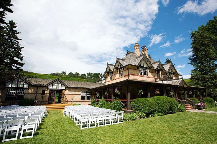The perfect venue for a summer wedding in the park @weddingsinthepark #bowvalleyranche
