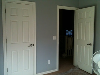 Glidden Pebble Grey Used On Easton S Nursery Walls