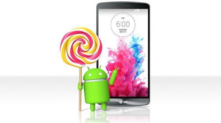 LG G3 primeste Android 5.0 Lollipop