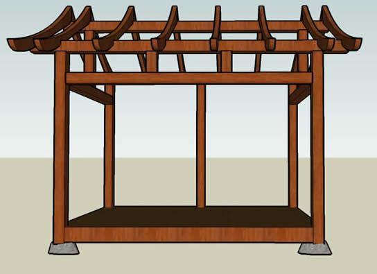 17 best ideas about gazebo on pinterest gazebo ideas for Japanese gazebo plans