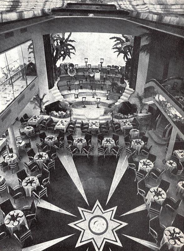 Dancing, Salon de Té Casablanca. Madrid 1934. De Luis Gutierrez Soto. Arquitecturas perdidas.