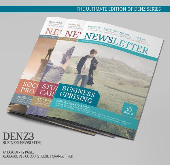 15 best awesome e newsletter designs images on pinterest for Corporate newsletter design inspiration