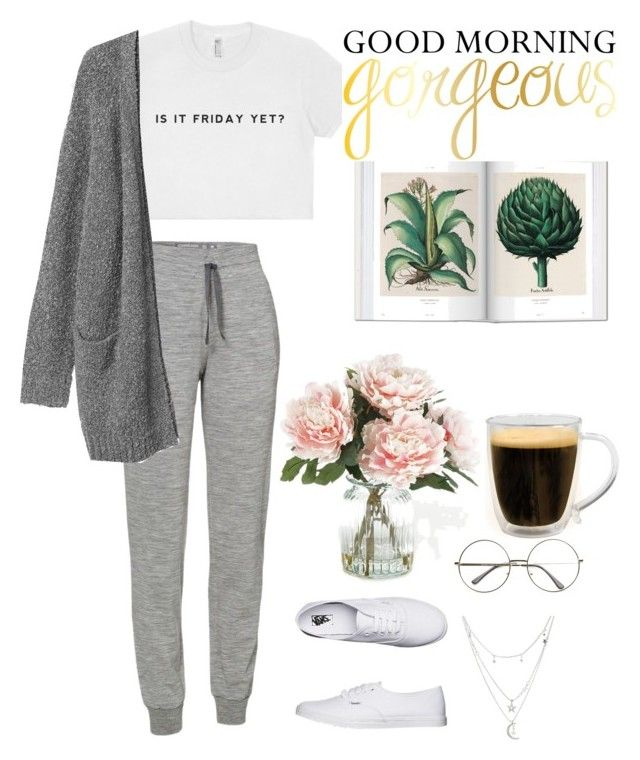 """morning☕️"" by parisianights on Polyvore featuring moda, Icebreaker, Vans, Monki, Charlotte Russe, Primula, Home Decorators Collection ve vintage"