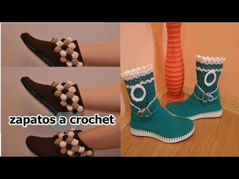 Zapatos tejidos (tenis tipo sandalia 4) - YouTube