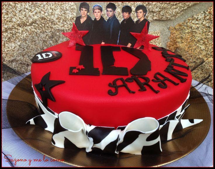 Tarta One Direction- One Direction Cake Sazono y me lo como